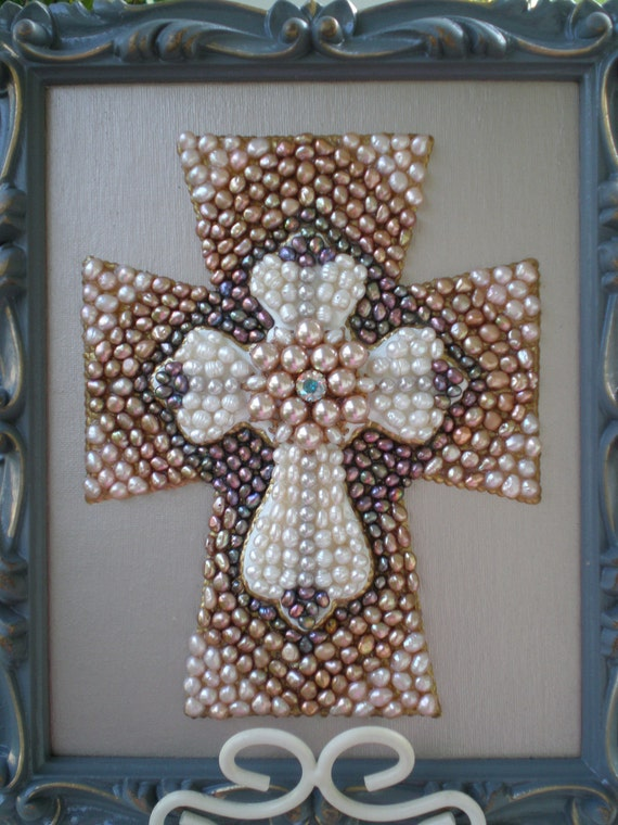 Mothers Day Sale-Decorative Pearl Cross