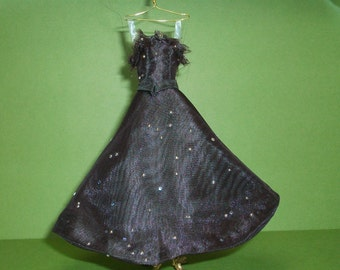 1/12 Scale Dollhouse Miniature Special Occasion, Prom Dress