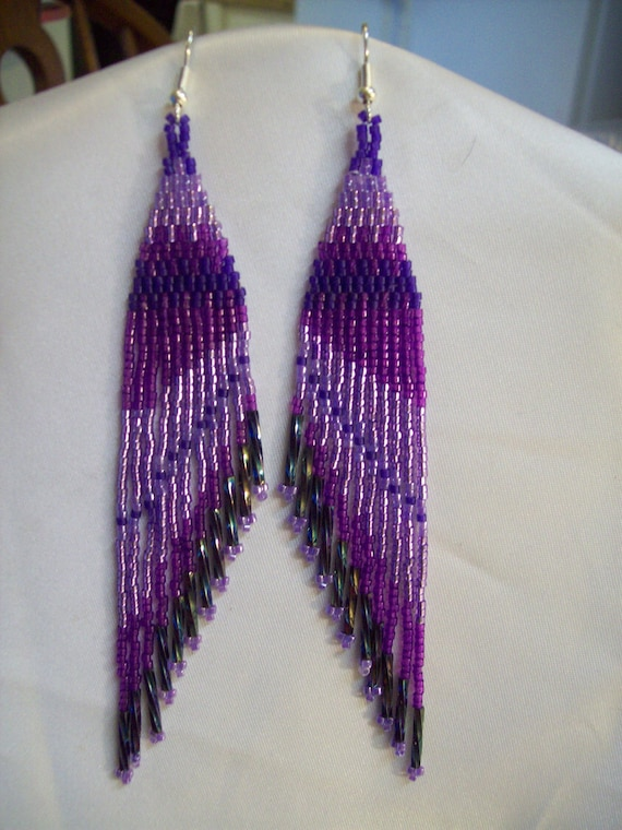 Items Similar To Beautiful Native American Design Beaded