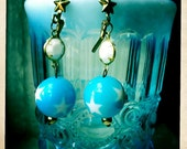 Have a ball at the Circus Side Show earrings