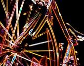 Night Bike - Abstract - Fine Art Photo