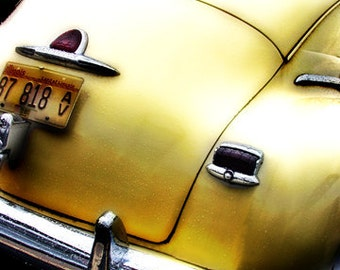 Old Yellow Plymouth - Fine Art Photo