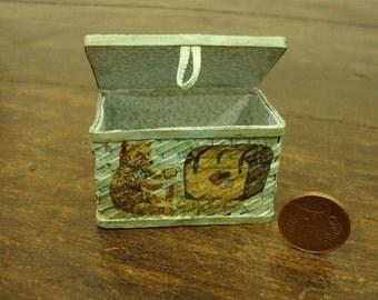 dollhouse Miniature Toy basket,