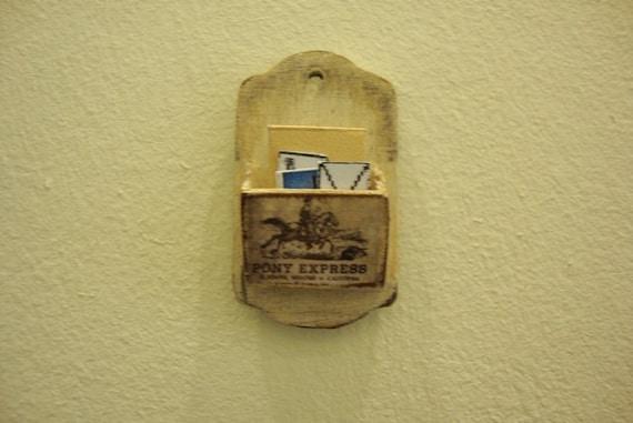 Miniature port letters pony express