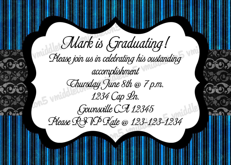 photo graduation party invitations iidaemilia com