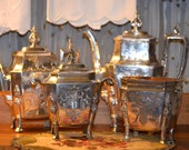 Antique Silver Service Simpson, Hall & Miller Coffee Service