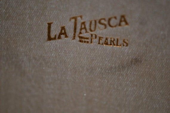 La Tausca Pearls Presentation  Box