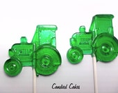 Buy 10 Get 10 Free -  TRACTOR LOLLIPOPS - Pick Any Color and Flavor