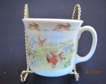 Bunnykins one handled Jack and Jill cup