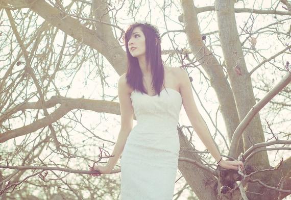 Gunne Sax sweetheart lace dress(SALE)