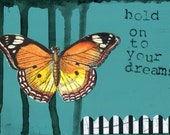 Hold On To Your Dreams  PRINT by Jennifer Taylor