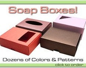 50 soap boxes Reserved listing for Eco Chic Soaps