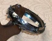 Vintage Childs Bracelet With Ornate Design