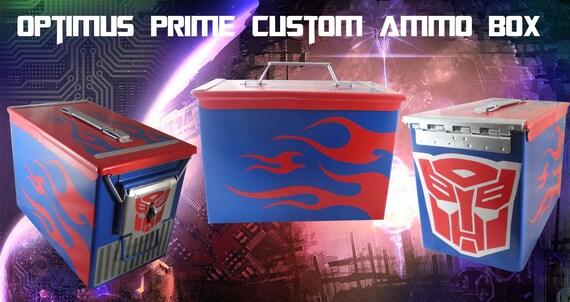 Optimus Prime Custom Ammo Box