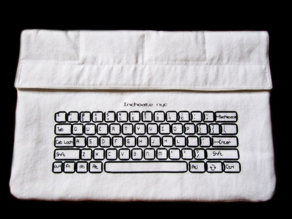 Keyboard Padded Laptop Sleeve/Case for Macbook Pro 15''  Version B-Custom Sizing Available