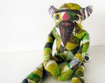 Bearded Monster Plush - Magnus: Limited Edition Designer Toy