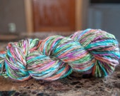 Handspun Merino/Bamboo Yarn 178 yds