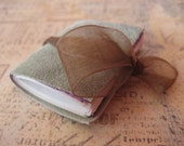 SALE - Mini Sage Soft Leather Journal - TheFirstKiss