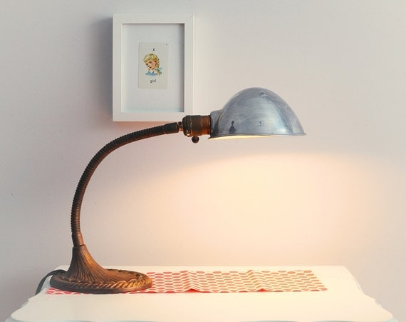 Ludovich - Industrial gooseneck desk lamp