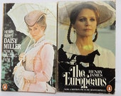 Two Henry James paperbacks published by Penguin, Daisy Miller and The Europeans