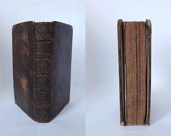 1638 book, Imitation of Christ - in Latin, by Thomas à Kempis