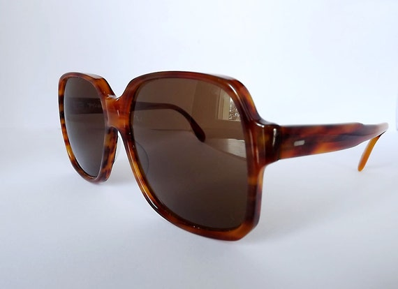 1970s oversize sunglasses by Player