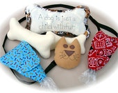 Walk the Dog Accessories to Make Sewing Pattern, Poo Bag, Dog toys, Dog Pillow
