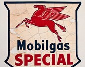 Route 66 Mobilgas Special Sign  2619  Affordable Fine Art Digital Photo for Home and Office 8x10
