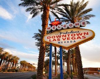 Downtown Vegas Fine Art Digital Photo 8x10