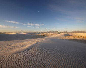 White Sands, New Mexico 15 2713 Fine Art Digital Photo 8x10