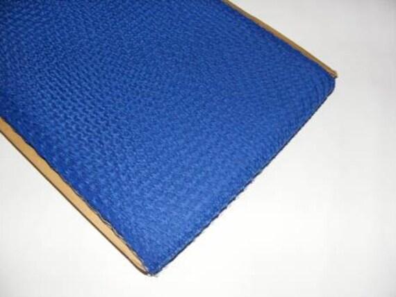 1 metre of  Millinery Veiling in Blue, 21cm wide