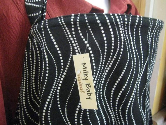 Breastfeeding nursing cover like hooter hider  BLACK beads hider or choose OVERSIZE XL 42x27