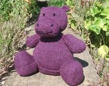 comment tricoter un hippopotame