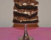 Nana's Chocoliscious Gooey Bars- 1/2 Dozen- Chocolate-Peanut Butter-Gooeyness