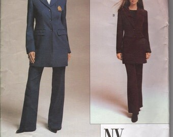 Vogue 2678 NY The Collection Jacket and Pants Woman sizes 6-10