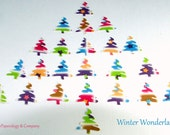 Winter Wonderland Collection Punchies, Set of 60 Hand Punched Pieces