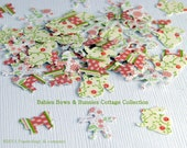 Babies, Bows, and Bunnies Punchies, Set of 60 Hand Punched Pieces