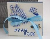 Baby Brag Book in White