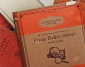 SALE - Clutch on You: From Baker Street with Love iPad case