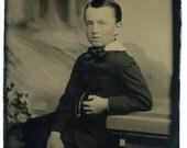 Portrait of a Boy (Tintype)