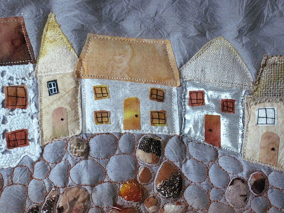Items Similar To Seaside Art Quilt St Ives Cornwall