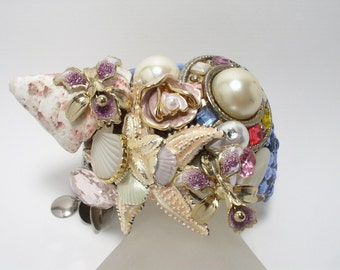 By The Sea, By The Sea ... Artisan Cuff Bracelet