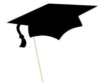 Graduation Cap Photo Booth Prop - Birthdays, Graduations, Parties - Photobooth Props