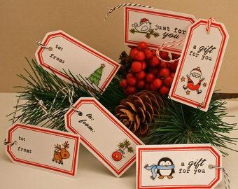 Holiday/Christmas Handmade Tags