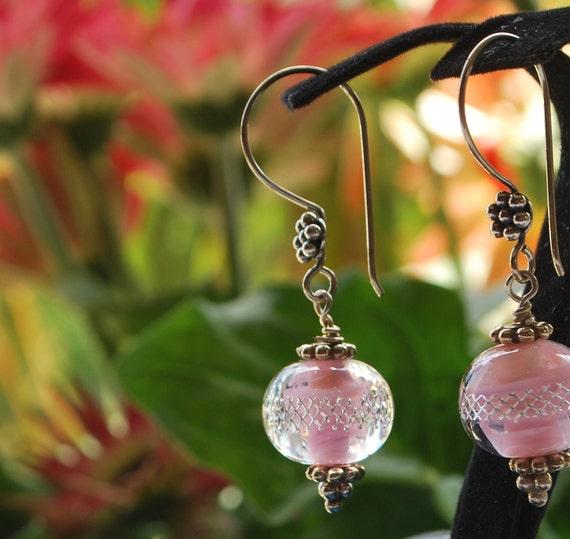 Sweet Summer Pink Earrings
