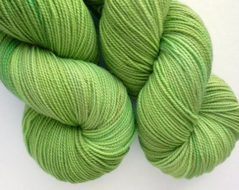 Hand Dyed Sock Yarn - Superwash Merino Fingering Weight in Orion Colorway