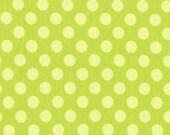 SALE-/Ta-Dot  Apple Knit Interlock Cotton Fabric   1 Yard