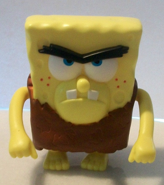 Sponge Bob The Neanderthal Cake Topper