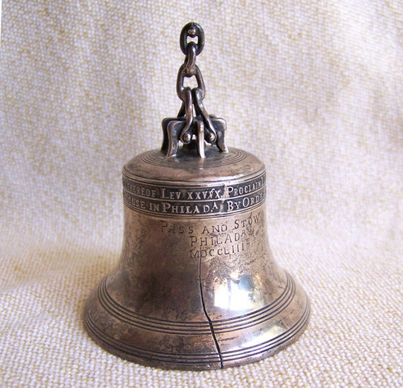 Towle sterling Liberty Bell dinner bell 131 grams over 4 ounces