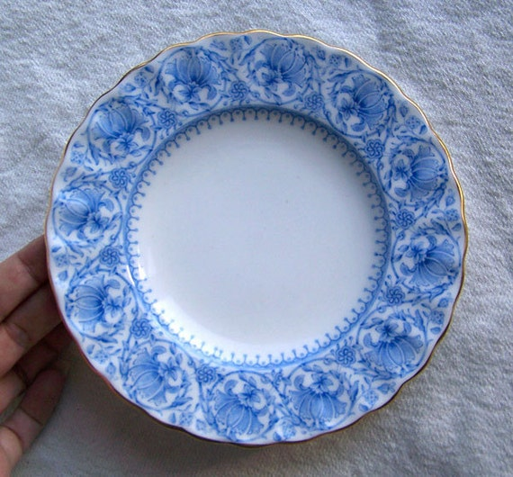 Royal Worcester 19th century W3534 DINNER PLATE Victorian antique china